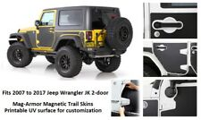 Jeep Mag-Armor Magnetic Trail Skins for 07-17 Jeep Wrangler 2-door