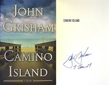 John Grisham~SIGNED IN PERSON & DATED~Camino Island~1st/1st + Rare Photos!!