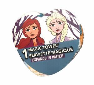 DISNEY Frozen 2 Anna & Elsa Magic Towel Washcloth