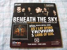 Beneath The Sky / A Day To Remember / Comeback Kid Rare 5 Track Promo CD 2007
