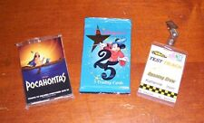Disney 25th Anniversary & Pocahontas Theater Promo Card Packs *NEW* + Bonus!