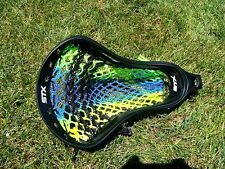Lacrosse Money Mesh Green to Yellow Fusion.  Very cool.  Show your swag!
