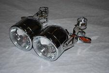 Twin Dominator Faro Soportes & indicadores gsf1200 Bandit 43-46mm Tenedores
