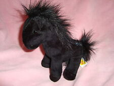 2008 Breyer The Saddle Club Plush Black Horse BELLE 6.5""