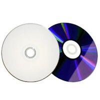 100 16X White Top Blank DVD-R DVDR Disc Grade A Media 4.7GB