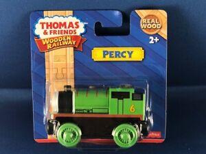 THOMAS & FRIENDS WOODEN RAILWAY PERCY ENGINE  NIP