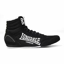 Lonsdale Contender Mid cut Lightweight Boxing Boots Laced Junior Boys