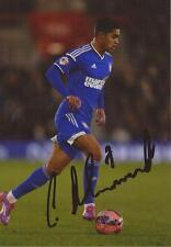 IPSWICH: CAMERON STEWART SIGNED 6x4 ACTION PHOTO+COA