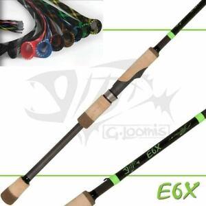 "G Loomis E6X Spinning Rod 802S 6'8"" Medium 1pc"
