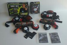 WowWee Light Strike Assault Laser Tag Lot ~ 2 Guns & Targets