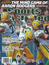 2015 Aaron Rodgers PACKERS Sports Illustrated 9/21/15 SI Mind Games Green Bay