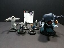 Heroclix Le Giganto and Namor Monsterex Abominable Snowman Ghost Werewolf