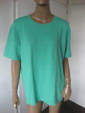 Rabe bildschöner Pullover 48 Grün Kurzarm