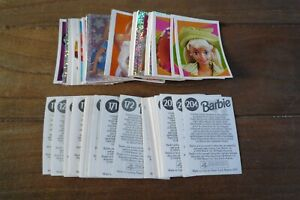 Panini Barbie Fantasy Stickers from 1998 - VGC! - Pick & Choose Your Stickers