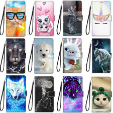 Flip Cartoon Stand Soft Leather Wallet Phone Case Cover For iPhone 11Pro X 6 7 8