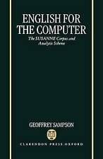 English for the Computer: The SUSANNE Corpus and Analytic Scheme-ExLibrary