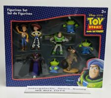 Toy Story and Beyond! Figurine Set Disney Store Woody Buzz Sealed