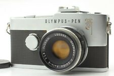 【EX+3】Olympus Pen F Half Flame w/F.Zuiko Auto-s 38mm F/1.8 Lens From Japan #902