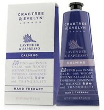 New Crabtree Evelyn London Lavender Espresso Body Calming Hand Therapy  3.5 oz