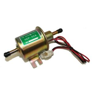 Pompa Carburante Benzina Gasolio Diesel Elettrica 12 V Universale 0,3-0,5 Bar