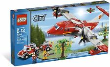 LEGO City Fire Plane (#4209)(Retired 2012)(Very Rare)(NEW)