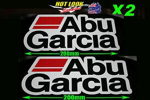 Abu Garcia Fishing Boat Stickers Decal Suit 4X4 Caravan Camping Tandem Trailer