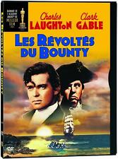 LES REVOLTES DU BOUNTY (MUTINY ON THE BOUNTY) - FRENCH COVER *NEW DVD*