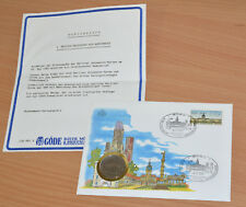 GÖDE Numisbrief - 1. deutsch-deutscher ATM Numisbrief 5 DDR Mark, limitiert