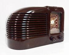 Old Antique Bakelite Admiral Vintage Tube Radio - Restored & Working Table Top