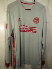 Atlanta United FC Adidas Gray Long Sleeve Training Jersey Size XL