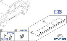 Genuine Hyundai Tucson Door Side Moulding (Centre), LH - 87721D7000