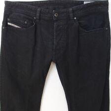 Mens Diesel SAFADO OR6B6 Stretch Straight Black Jeans W32 L34