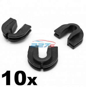 10x VW Transporter Grille Trim Clips- Plastic Clips for front of T4 & Caravelle