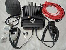 MOTOROLA XTL 5000, UHF P25 ANALOGUE / DIGITAL  MOBILE RADIO 110w