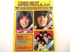 TIGER BEAT MAGAZINE SPECTACULAR DECEMBER 1971 CASSIDY, SHERMAN, OSMONDS, JACKSON