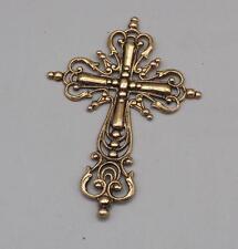 Vintage Metall Kruzifix Anhänger Mv