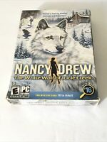 Nancy Drew: The White Wolf Of Icicle Creek (PC, 2007) NIP