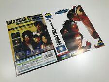 Neo Geo AES SNK vs Capcom SVC Chaos Insert
