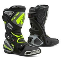 motorcycle boots | Forma Ice Pro racing black grey track road race tech smx