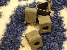 4 GENUINE FORD ESCORT MK3 MK4 TURBO XR SUN VISOR RETAINING CLIPS NEW OLD STOCK