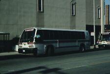 Decatur Public Transit System RTS bus Kodachrome original Kodak slide