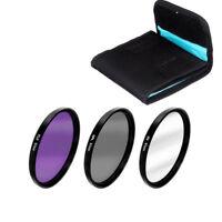 67MM Lens Filter Kit UV Polarizer CPL PLD for Canon Nikon Sony  DSLR Camera Set