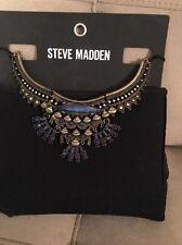 Steve Madden Bibb Necklace NWT