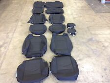 FACTORY OEM CLOTH SEAT COVER COVERS EBONY BLACK 2015 CHEVROLET TRAVERSE