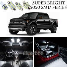 5050 SMD White LED Interior Lights Package Kit For 2010-2014 Ford Raptor 7pcs