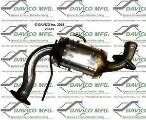 Catalytic Converter-Exact-Fit Rear,Front Davico Exc CA 23371