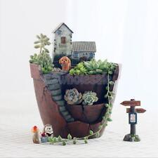 Garden Flower Herb Planter Succulent Pot Sky Garden Trough Box Plant Bed
