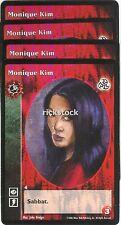 Monique Kim x4 Toreador antitribu 3rd Ed VTES Jyhad