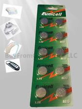 100 pcs AG13 LR44 G13 SR44 357 1.5V card alkaline button battery for watch