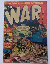 War Comics #7 (Dec 1951, Atlas) G/VG 3.0 Russ Heath and Joe Maneely art